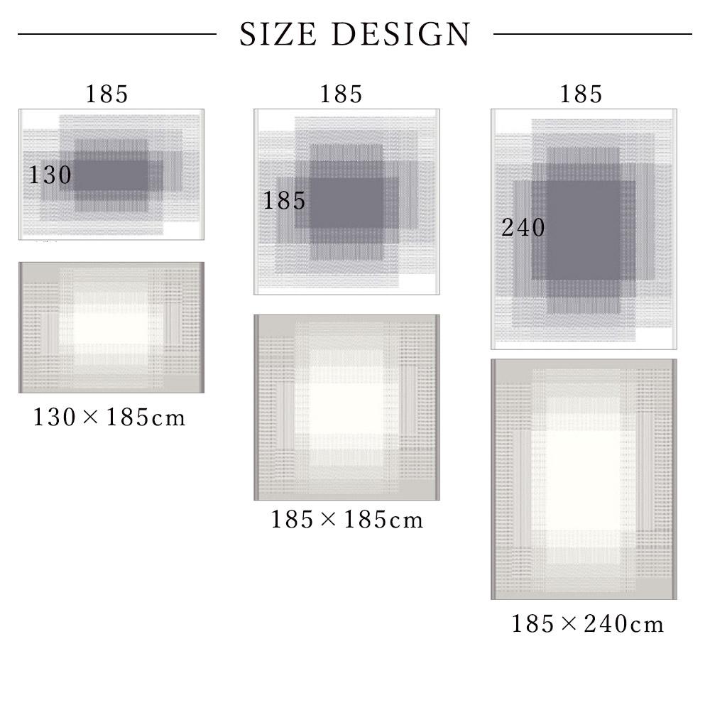 サイズごとのデザイン